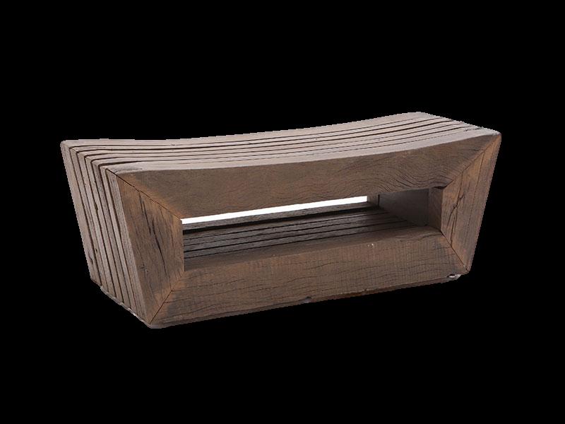 Natural Wood Bench   Furniture Design by Ricardo Rodrigues   NDT Design