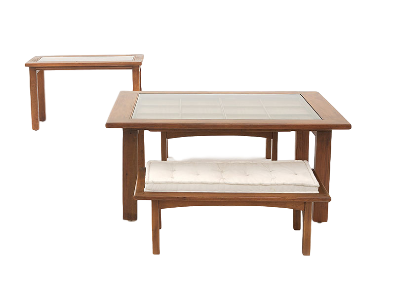 Dining Set with Bench | Furniture Design by Ricardo Rodrigues | NDT Design